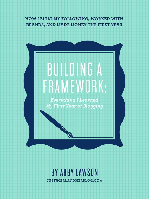 Building a Framework eBook by Just a Girl and Her Blog