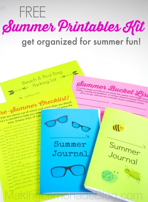 Summer Printables Kit by Making Lemonade