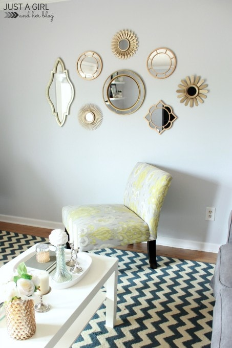 Summer Home Tour 2014 at JustAGirlAndHerBlog.com