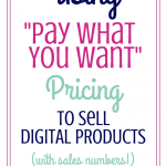 Thoughts On Pay What You Want Pricing (PWYW) With Sales Numbers