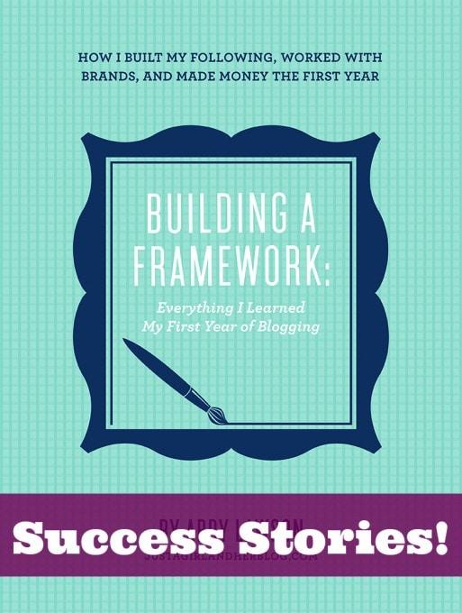 Building a Framework: Success Stories!