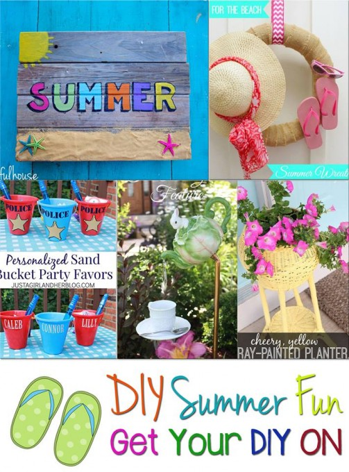 Get Your DIY On: Summer Fun