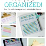 Free Printables to Help You Get Organized {Everyday Enchanting}