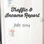 July 2014 Traffic and Income Report