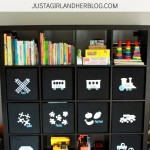 Taming the Clutter: Organized Toy Bins