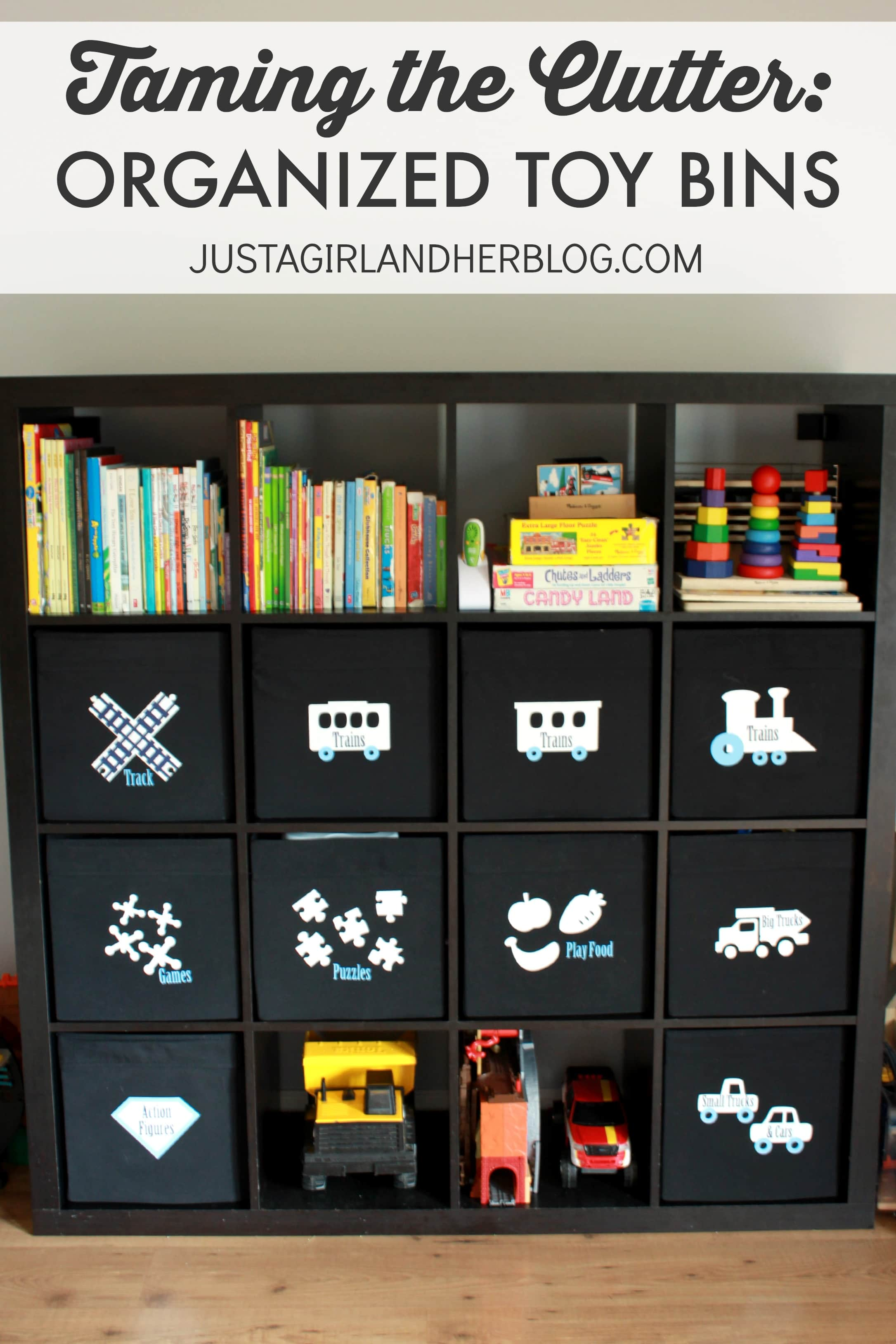 Taming The Clutter Organized Toy