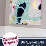 DIY Abstract Art | JustAGirlAndHerBlog.com