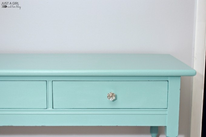 A Bright and Bold Desk Makeover | JustAGirlAndHerBlog.com