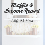 August 2014 Traffic and Income Report