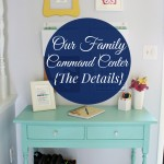 Our Family Command Center {The Details}