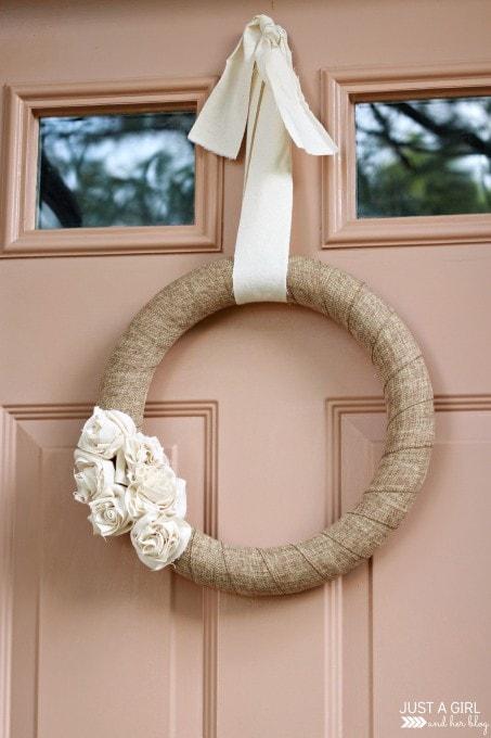 A Neutral Fall Wreath