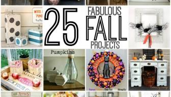 25 Fabulous Fall Projects