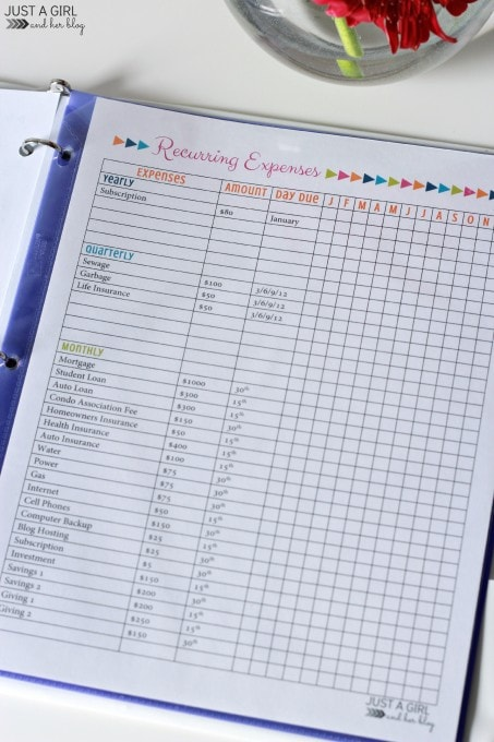 Our Secret Weapon for Saving Money: The 2015 Budget Binder ...
