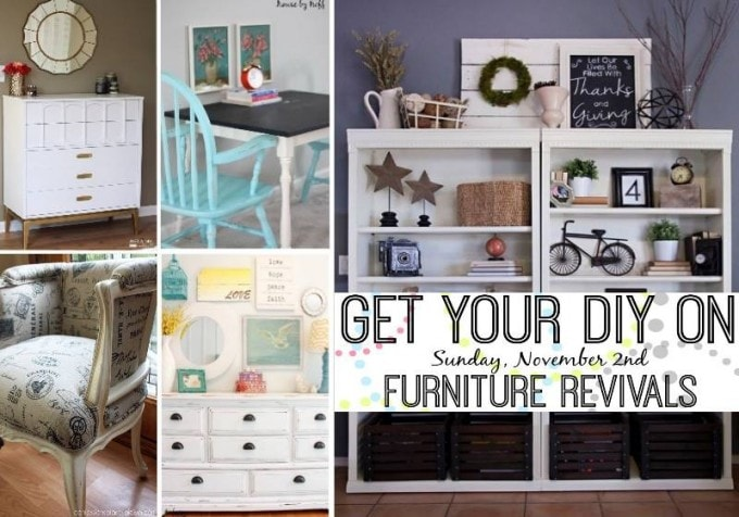 Get Your DIY On Furniture Revivals