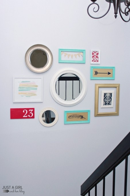 How We Transformed Our Stairwell in Just 3 Hours!