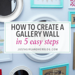 How to Create a Gallery Wall in 5 Easy Steps