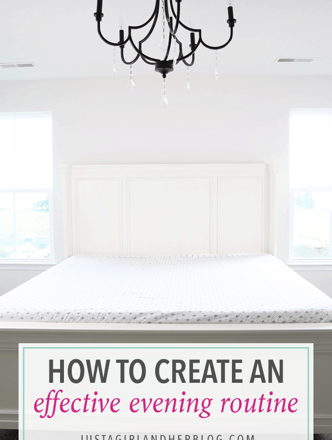 Such great tips for establishing an effective evening routine to set yourself up for success the next day! Click through to the post to get all of the helpful tips and ideas!