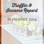 September 2014 Traffic and Income Report