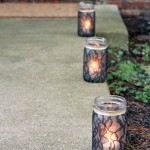 Halloween Mason Jar Luminaries