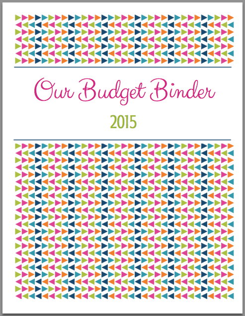 The 2015 Budget Binder | JustAGirlAndHerBlog.com