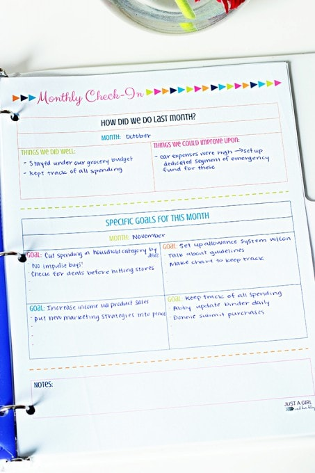 free printable budget binder  our secret weapon for saving