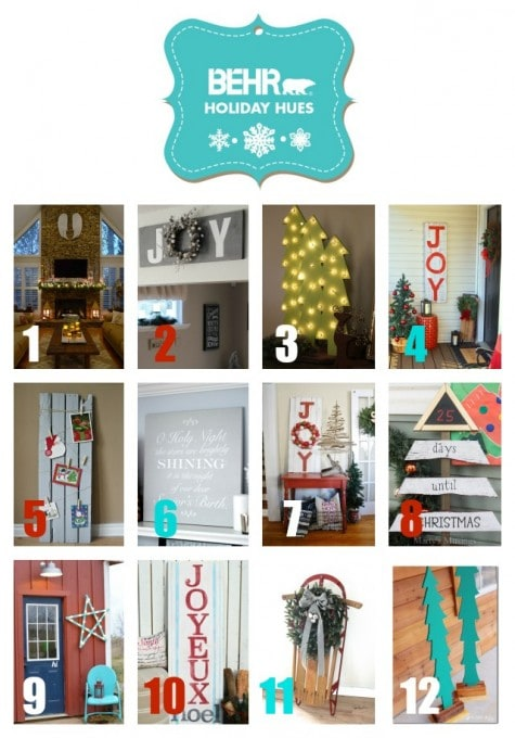 Christmas Shelf Decor | JustAGirlAndHerBlog.com