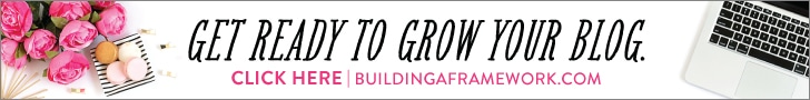 Building a Framework: The Ultimate Blogging Handbook | JustAGirlandHerBlog.com