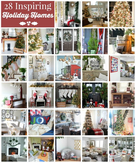 28 Inspiring Holiday Homes | JustAGirlAndHerBlog.com