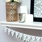 The Easiest Way to Make Christmas Bunting