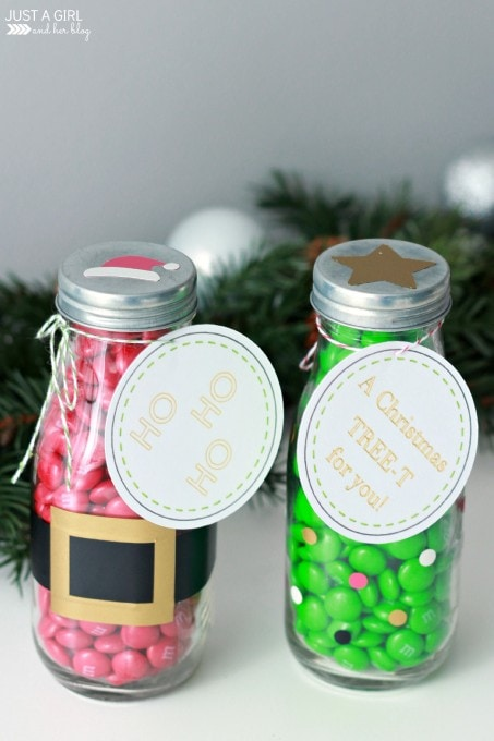 M&M Milk Bottle Teacher Gift