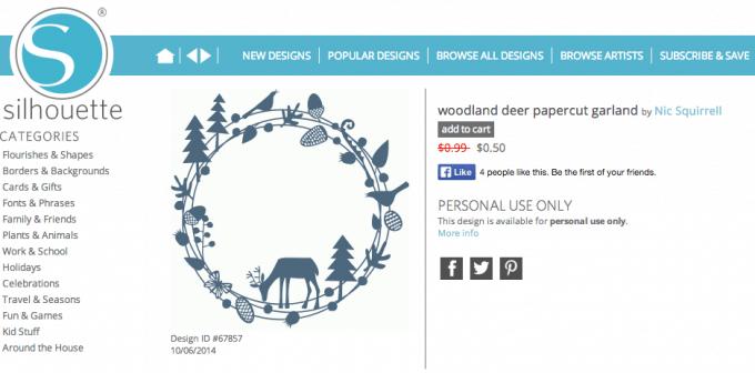 Woodland Christmas Wreath | JustAGirlAndHerBlog.com