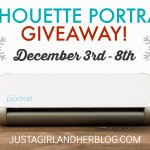 Our Woodland Christmas Wreath {And a Silhouette Portrait GIVEAWAY!}