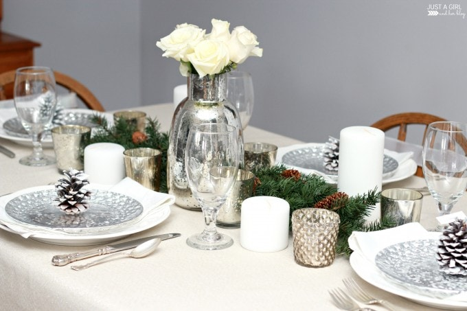 Our Christmas Table | JustAGirlAndHerBlog.com