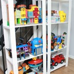 A Storage Solution for Big Toys {and an IKEA hack!}