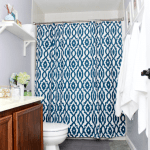 The Cs' Bathroom Refresh REVEAL!! {New Year, New Colors with Behr}