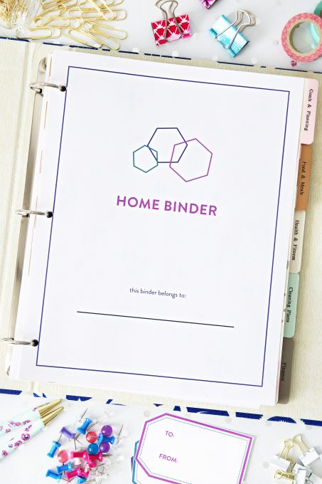 Home Organization Printables, Home Binder, Organized, Organizational Printables