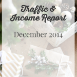 December 2014 Traffic and Income Report