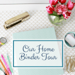 Introducing…Simplify! {And Our Home Binder Tour!}