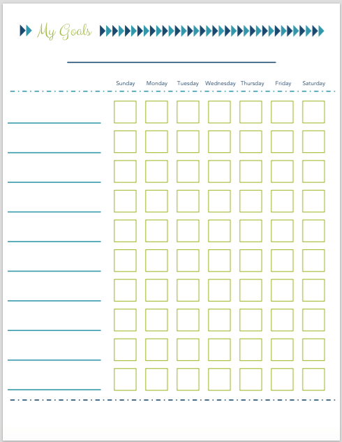 Organizing the Kids: Free Printable Chore Charts | JustAGirlAndHerBlog.com