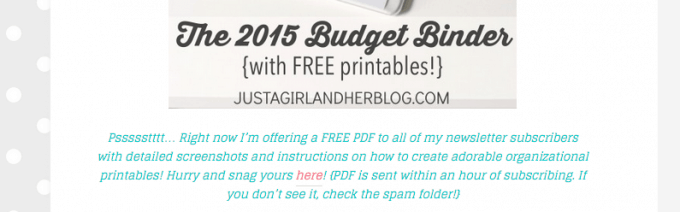 January 2015 Income Report | JustAGirlAndHerBlog.com