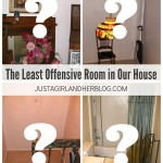 The Least Offensive Room in Our House | JustAGirlAndHerBlog.com