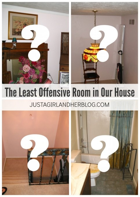 The Least Offensive Room in Our House