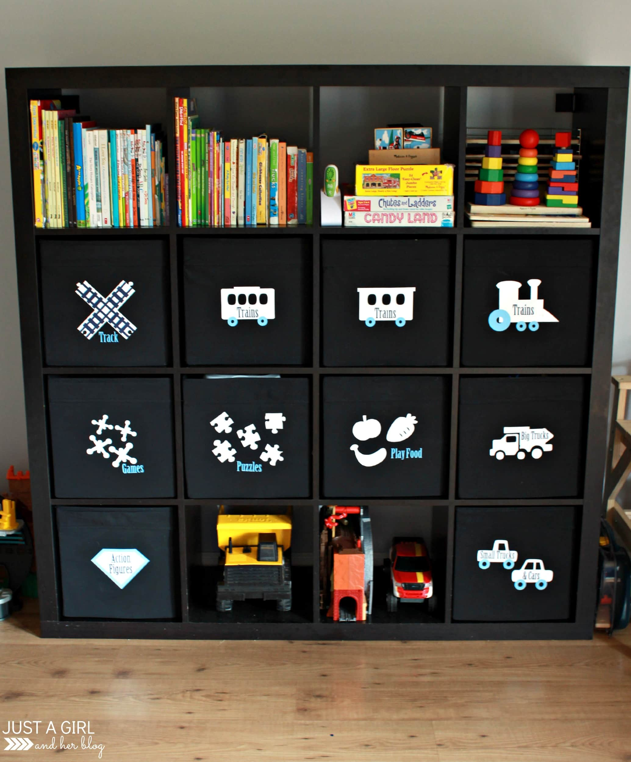 A Storage Solution For Big Toys And An Ikea Hack Abby