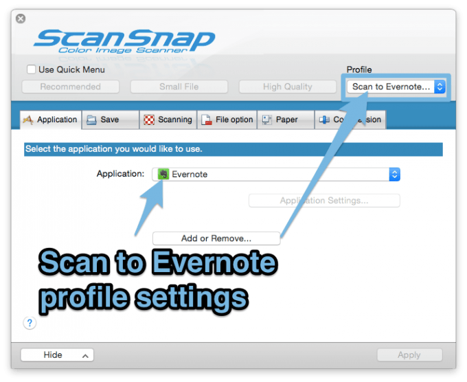scansnap_manager_evernote_profile