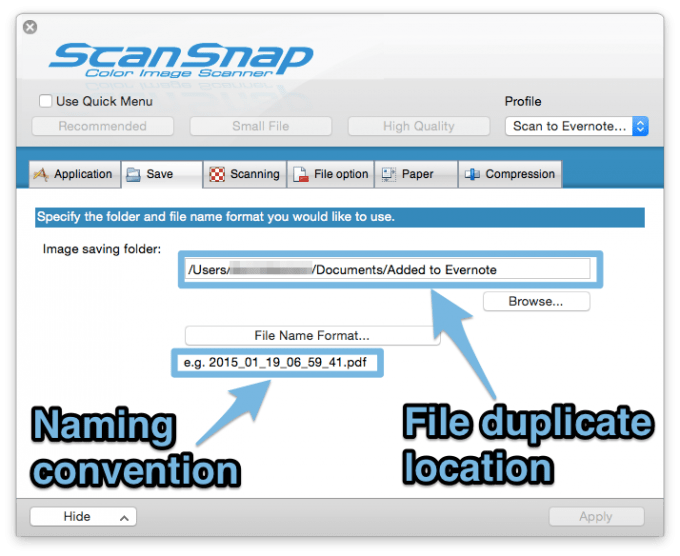 scansnap_manager_naming_convention