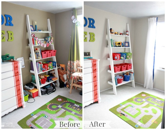 Bedroom Organization Clutter Decluttering The Kids Room Just A Girl And Her