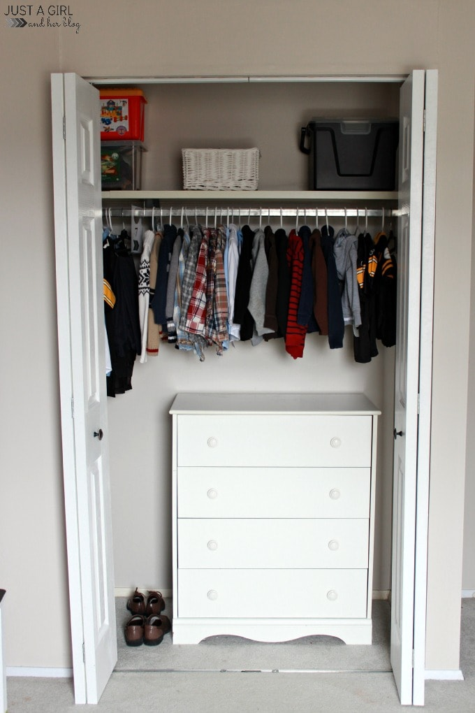 Decluttering the Kids\' Room - Just a Girl and Her Blog