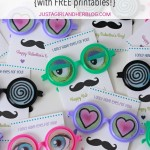 """I Only Have Eyes for You!"" Valentines {with FREE printables!}"