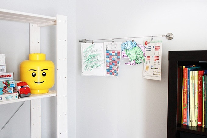 How to Organize Kids' School Papers | JustAGirlAndHerBlog.com