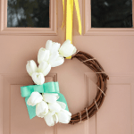 A Sweet and Simple Spring Wreath